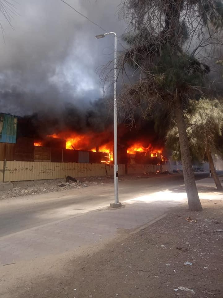 حريق سوق توشكى  (3)