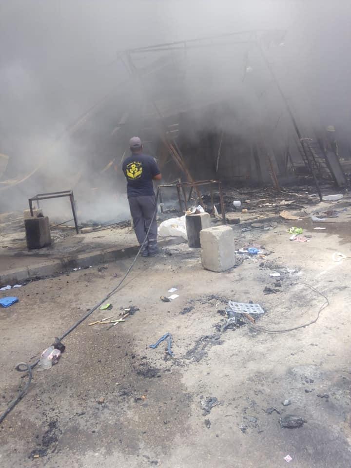 حريق سوق توشكى  (5)