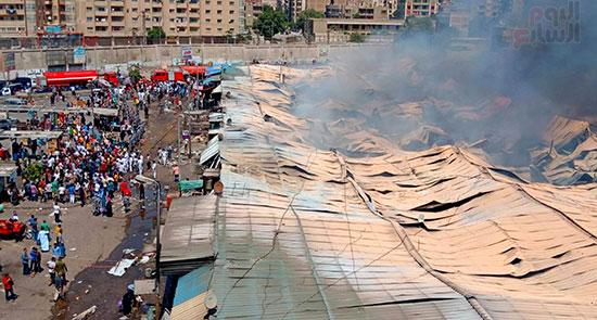 حريق سوق توشكى (13)