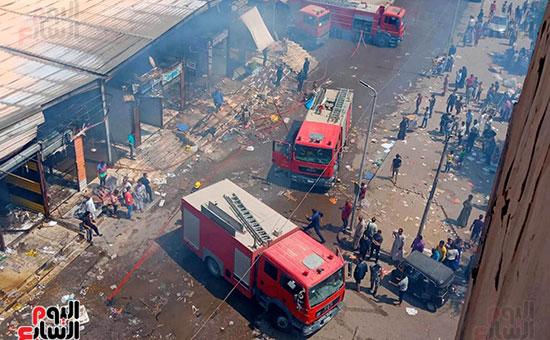 حريق سوق توشكى (11)