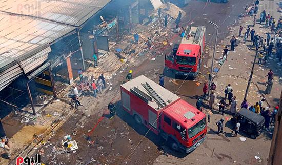 حريق سوق توشكى (12)