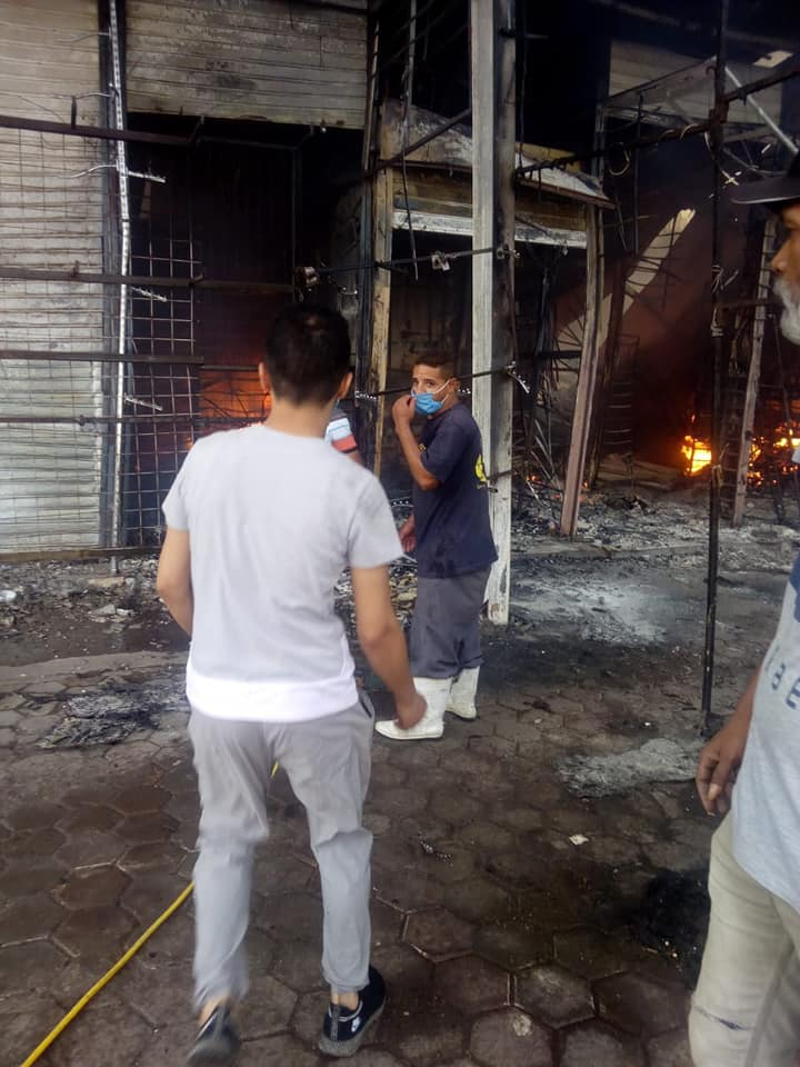 حريق سوق توشكى  (4)