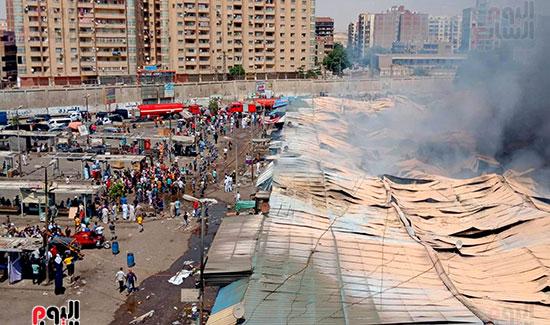 حريق سوق توشكى (15)