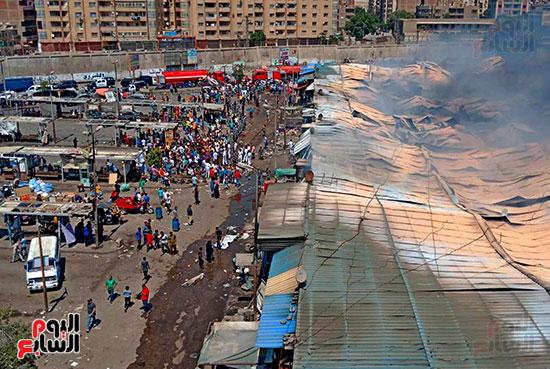 حريق سوق توشكى (6)