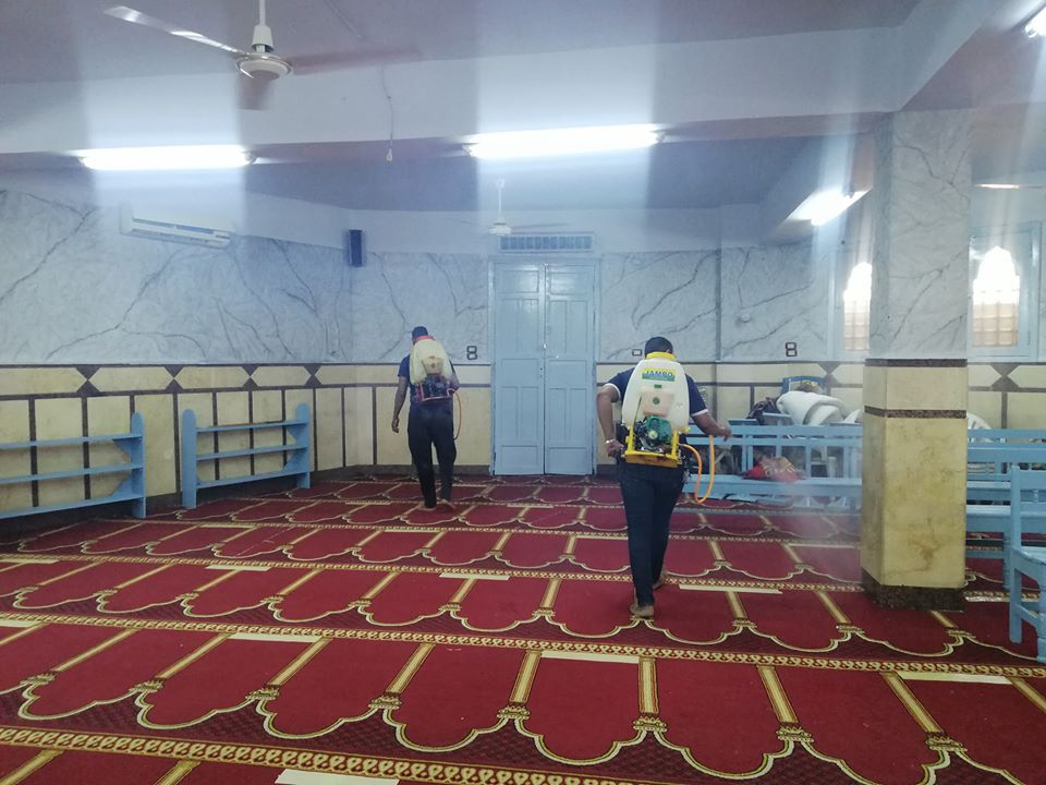 إمام مسجد صلاح الدين بمدينة الأقصر يكشف تفاصيل التجديدات خ (14)