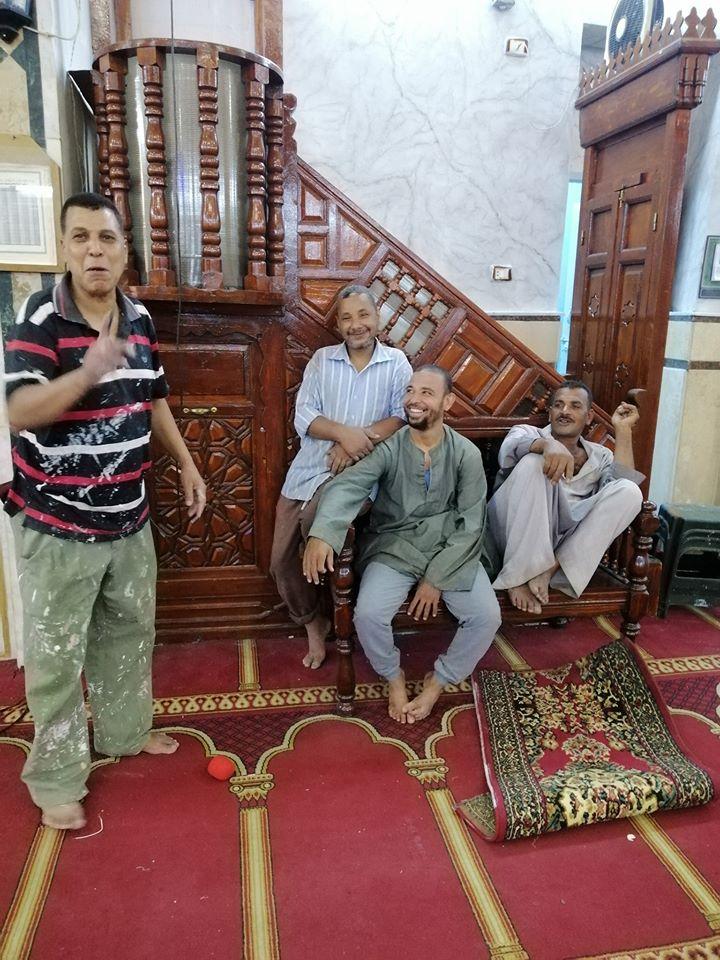 إمام مسجد صلاح الدين بمدينة الأقصر يكشف تفاصيل التجديدات خ (4)