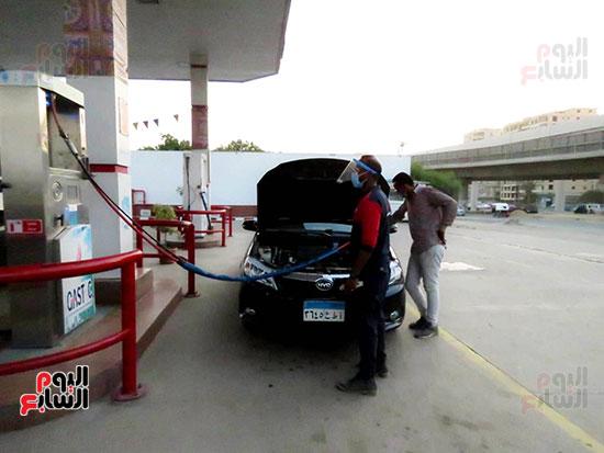 محطة تمويل غاز لسيارات