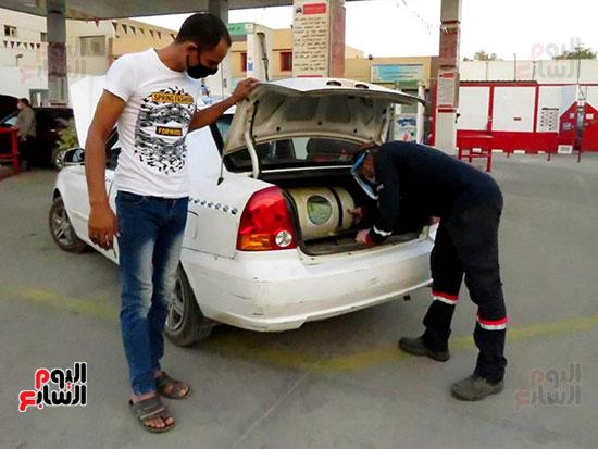 محطات تمويل الغاز