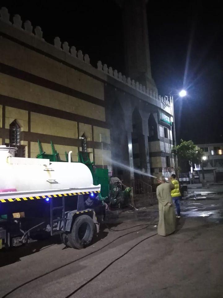 إمام مسجد صلاح الدين بمدينة الأقصر يكشف تفاصيل التجديدات خ (12)