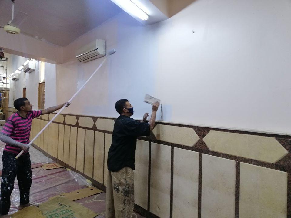 إمام مسجد صلاح الدين بمدينة الأقصر يكشف تفاصيل التجديدات خ (6)