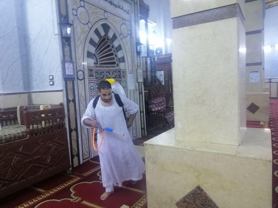 إمام مسجد صلاح الدين بمدينة الأقصر يكشف تفاصيل التجديدات خ (7)