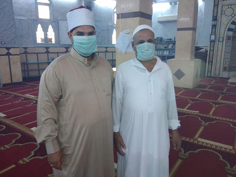 إمام مسجد صلاح الدين بمدينة الأقصر يكشف تفاصيل التجديدات خ (9)