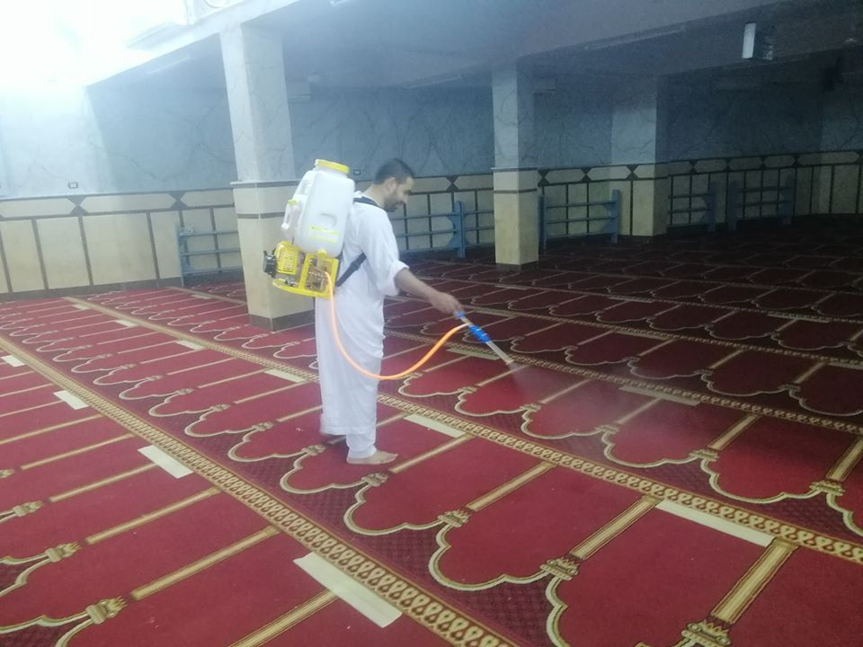 إمام مسجد صلاح الدين بمدينة الأقصر يكشف تفاصيل التجديدات خ (11)