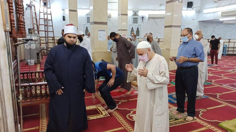 إمام مسجد صلاح الدين بمدينة الأقصر يكشف تفاصيل التجديدات خ (3)