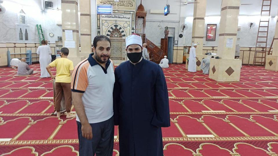 إمام مسجد صلاح الدين بمدينة الأقصر يكشف تفاصيل التجديدات خ (13)