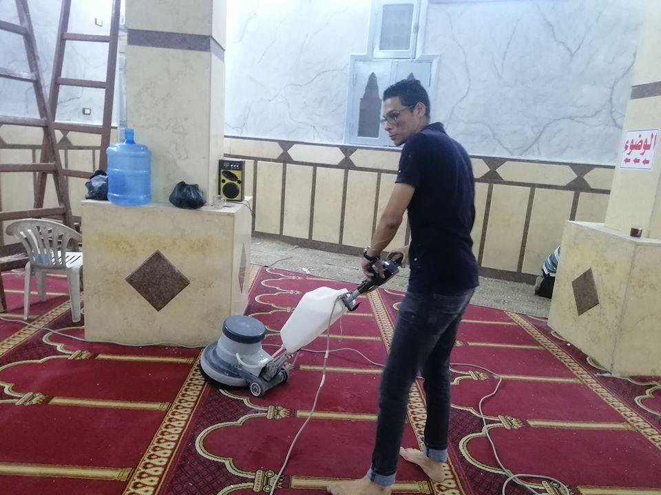 إمام مسجد صلاح الدين بمدينة الأقصر يكشف تفاصيل التجديدات خ (10)