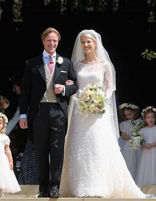فستان زفاف السيدة غابرييلا وندسور