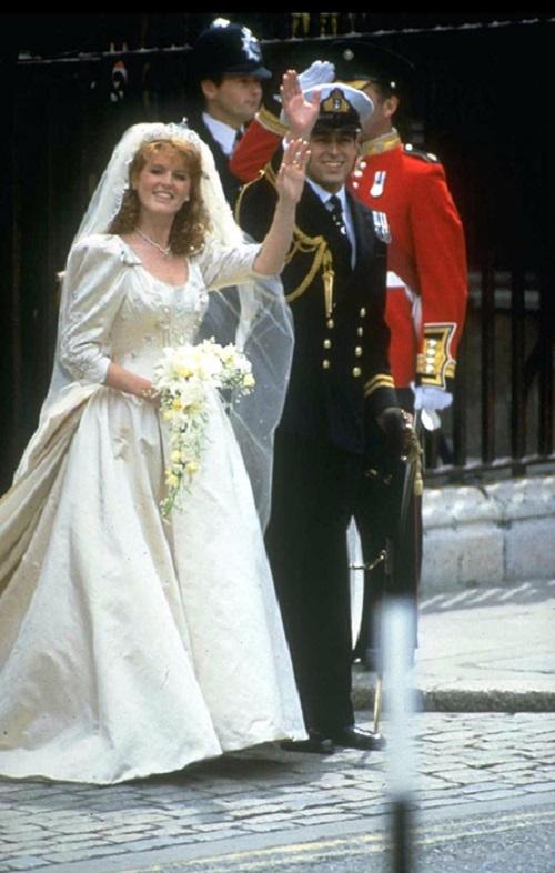 فستان زفاف دوقة يورك سارة سارة فيرجسون