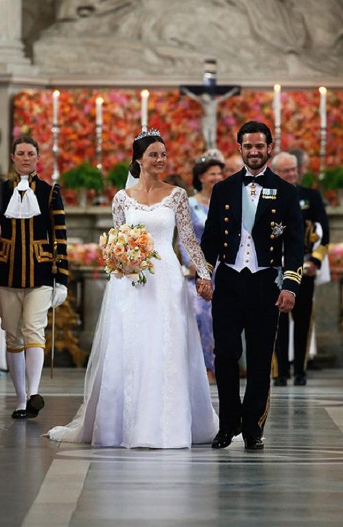 فستان زفاف الأميرة صوفيا