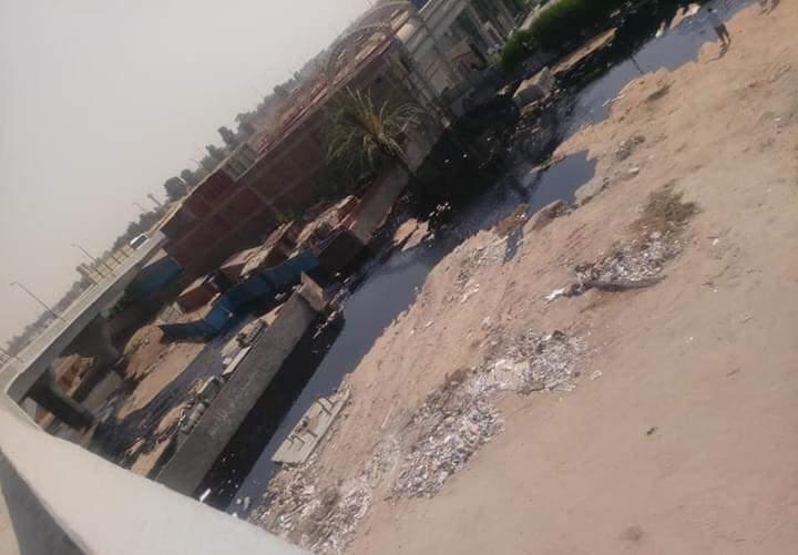صورة من موقع الحادث قبل الحريق