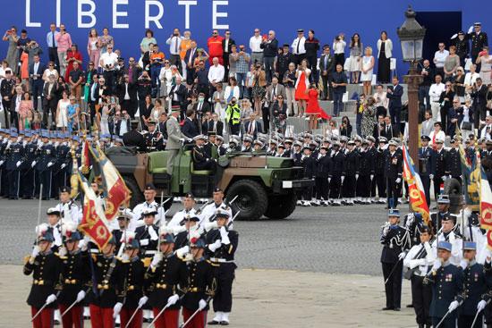 وصول الرئيس الفرنسى
