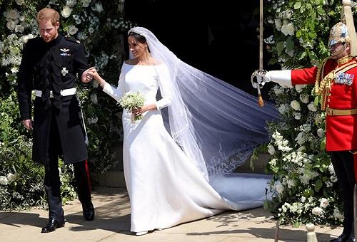 فستان زفاف ميغان ماركل