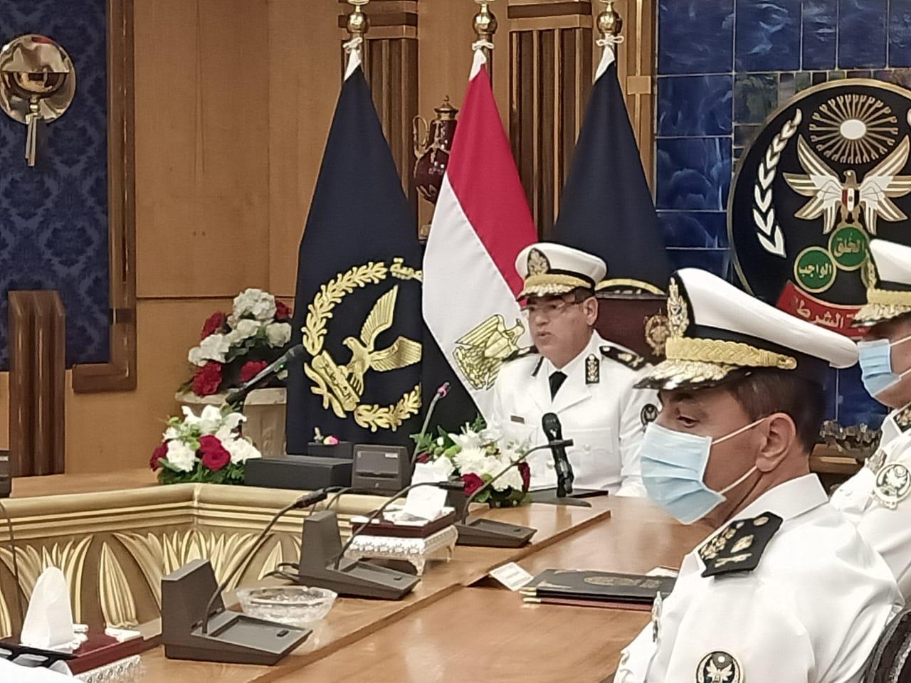 اللواء أحمد إبراهيم مساعد وزير الداخلية رئيس أكاديمية الشرطة