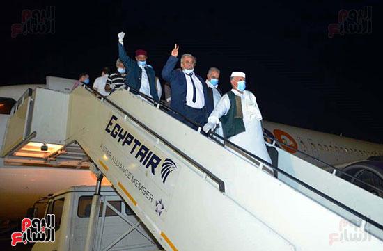 القاهرة تستقبل وفد القبائل الليبية (3)