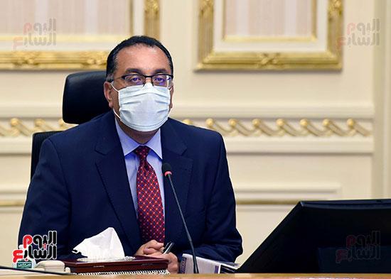 اجتماع مجلس الوزراء عبر تقنية الفيديو كونفرانس (1)