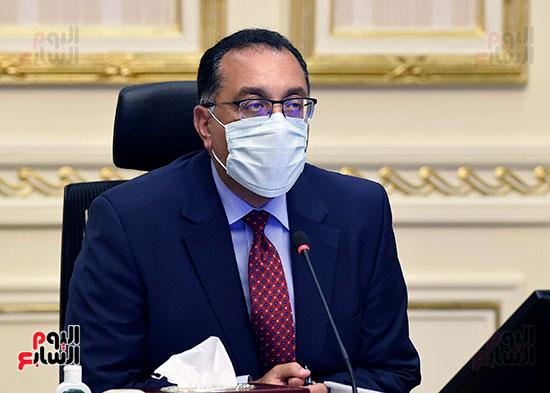 اجتماع مجلس الوزراء عبر تقنية الفيديو كونفرانس (6)