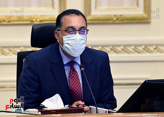 اجتماع مجلس الوزراء عبر تقنية الفيديو كونفرانس (7)
