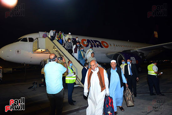 القاهرة تستقبل وفد القبائل الليبية (12)