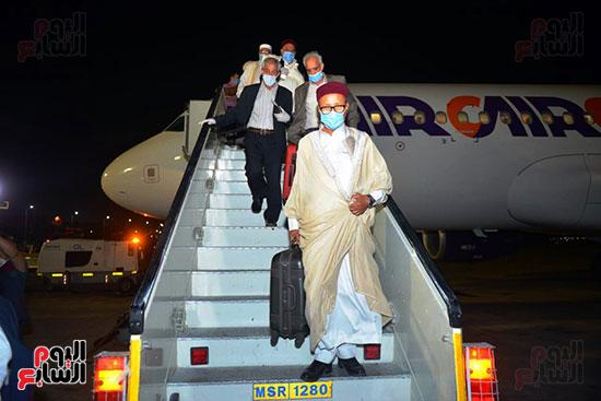 القاهرة تستقبل وفد القبائل الليبية (27)