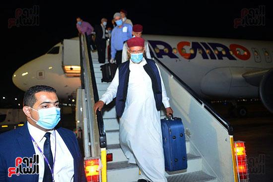 القاهرة تستقبل وفد القبائل الليبية (1)