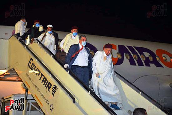 القاهرة تستقبل وفد القبائل الليبية (14)