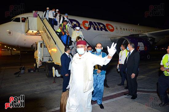 القاهرة تستقبل وفد القبائل الليبية (10)