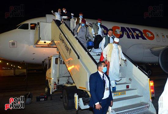 القاهرة تستقبل وفد القبائل الليبية (6)
