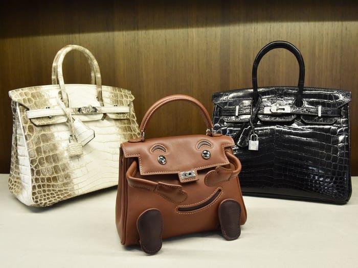 حقيبة تمساح Hermès Birkin