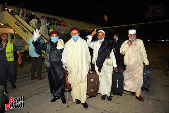 القاهرة تستقبل وفد القبائل الليبية (11)