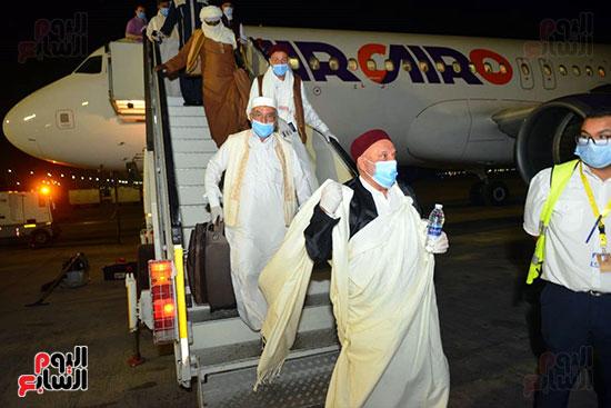 القاهرة تستقبل وفد القبائل الليبية (26)