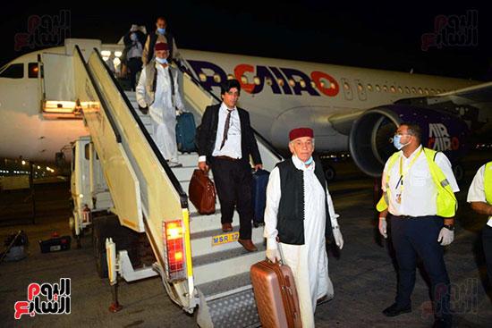 القاهرة تستقبل وفد القبائل الليبية (18)