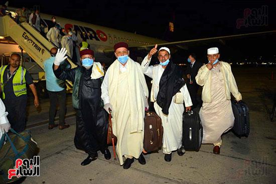 القاهرة تستقبل وفد القبائل الليبية (13)