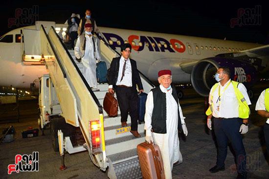 القاهرة تستقبل وفد القبائل الليبية (24)