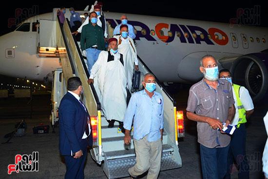 القاهرة تستقبل وفد القبائل الليبية (2)