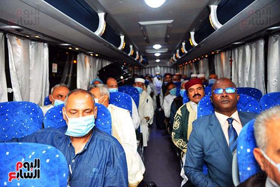 القاهرة تستقبل وفد القبائل الليبية (20)