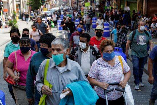 قلق بين مواطنى المكسيك بسبب تفشى كورونا
