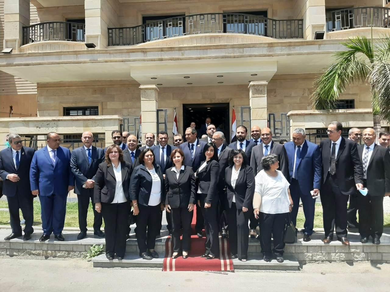 مرشحو القائمة الوطنية من أجل مصر بانتخابات الشيوخ