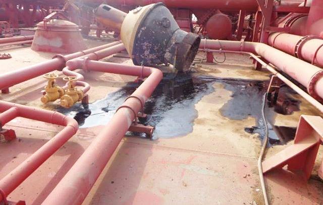 الوضع الحالى للناقلة النفطية صافر