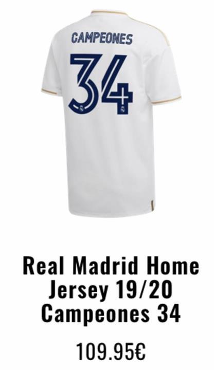 سعر قميص ريال مدريد