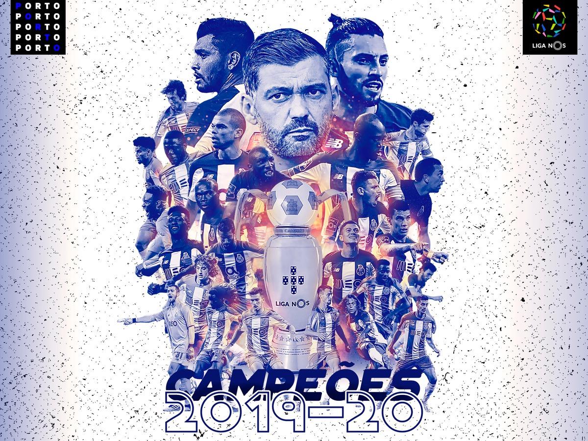 بورتو بطل الدوري البرتغالى